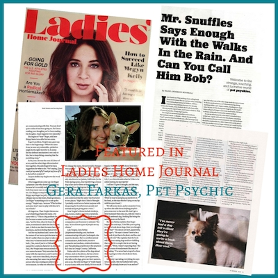 Ladies Home Journal article on pet communication